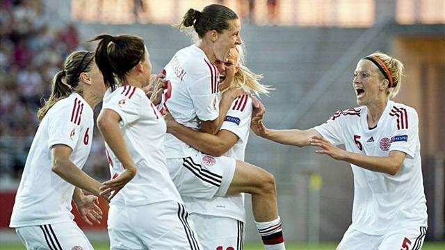 Women's Euro - Denmark stun favourites France on penalties