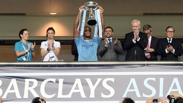 Premier League - City beat Sunderland to win Asia Trophy