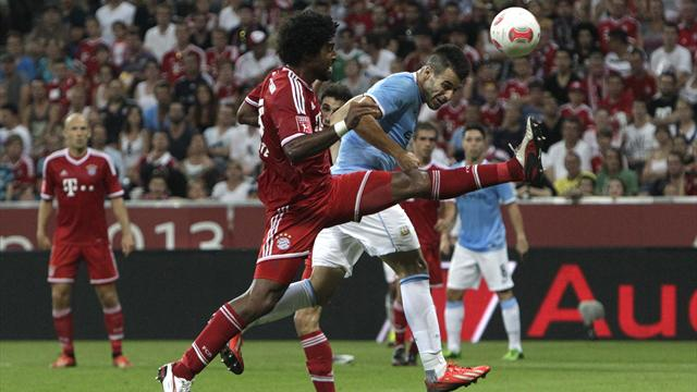 Bundesliga - Negredo scores as Man City lose to Bayern Munich