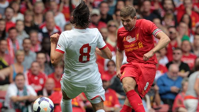 Premier League - Liverpool beat Olympiacos in Gerrard testimonial