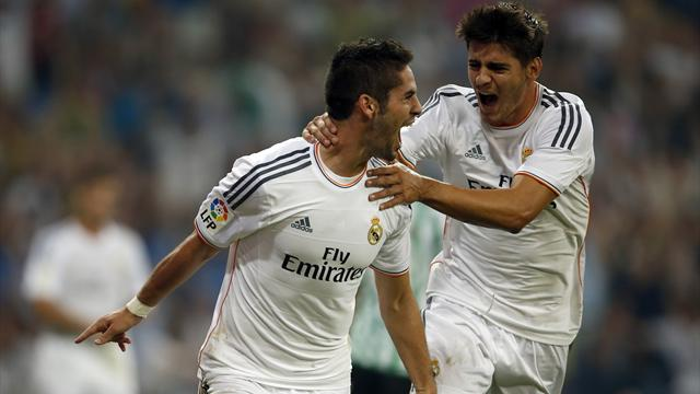 Liga - Isco heads Real Madrid to win over Betis
