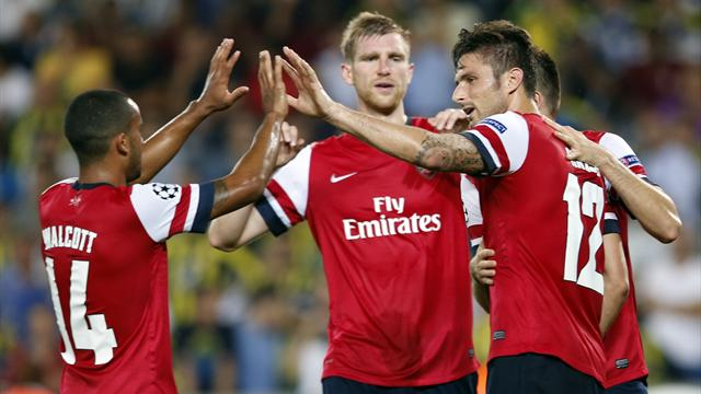 Champions League - Arsenal coast to victory against Fenerbahce