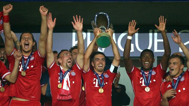 European Super Cup - Bayern snatch win from Chelsea as Guardiola betters Mourinho