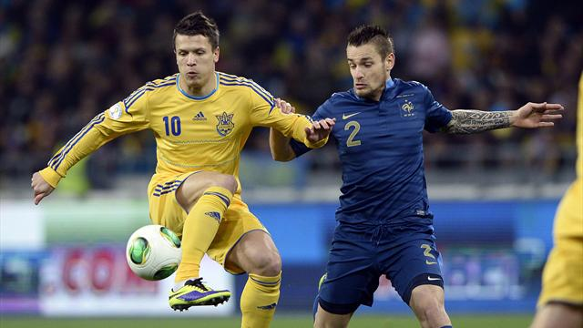 World Cup - Red-faced France on brink after defeat to Ukraine