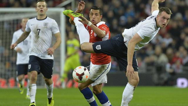 International friendlies - Sanchez at the double as Chile sink England