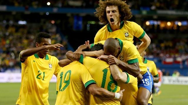 International friendlies - Neymar pulls strings in Brazil win over Chile