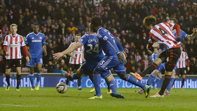 League Cup - Ki fires Sunderland past Chelsea and into semis