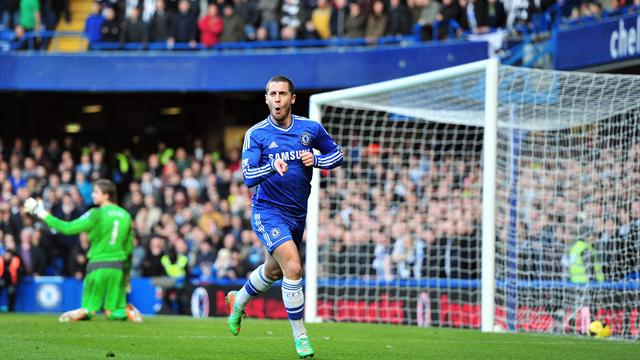 Premier League - Hazard hits hat-trick as Chelsea go top