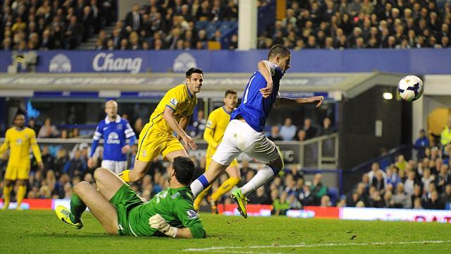 Premier League - Palace stun Everton in five-goal thriller