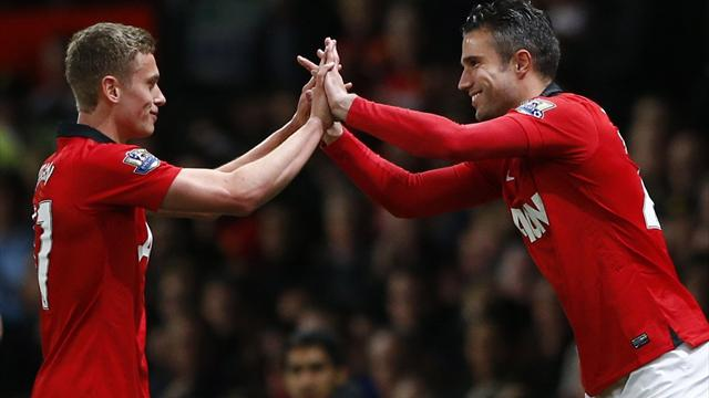 Premier League - Debutant Wilson's double fires United to victory over Hull