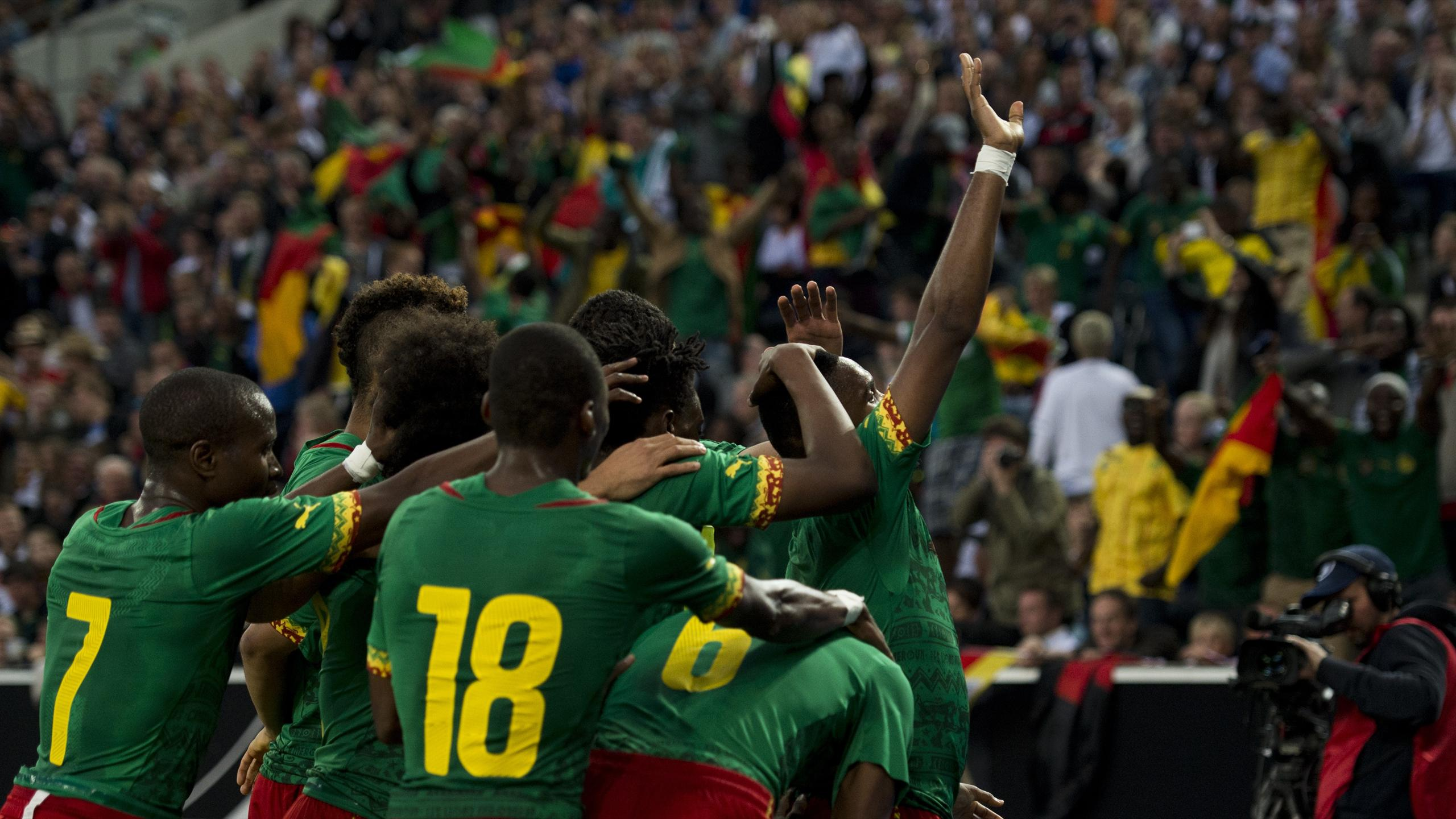 World Cup - Germany held on home soil by stubborn Cameroon