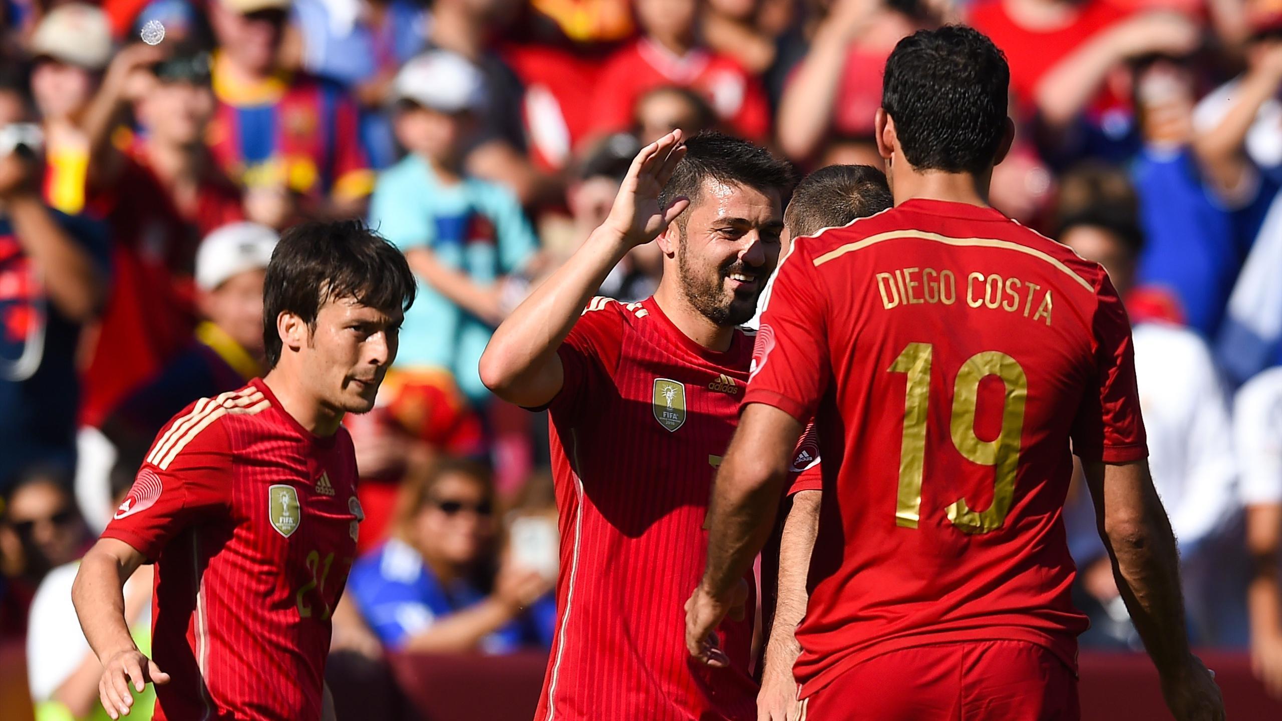 International friendlies - Villa double guides Spain to victory over El Salvador