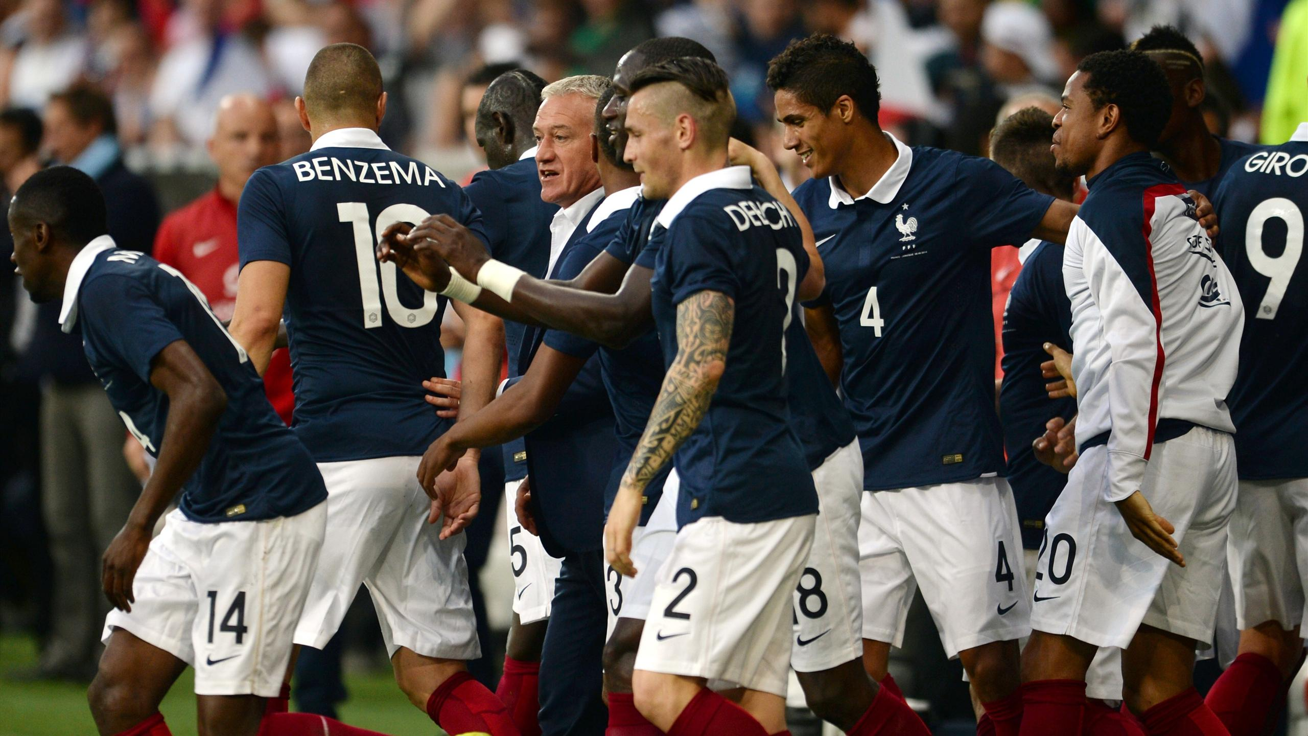 International friendlies - France put eight past Jamaica in final warm-up