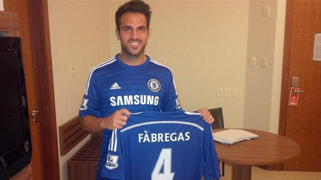 Premier League - Chelsea sign Fabregas from Barcelona