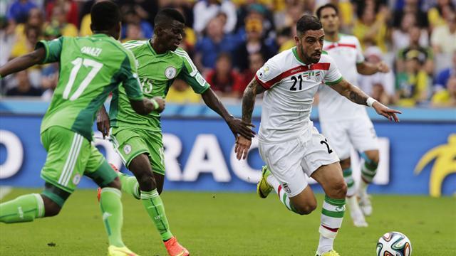 Iran 0-0 Nigeria