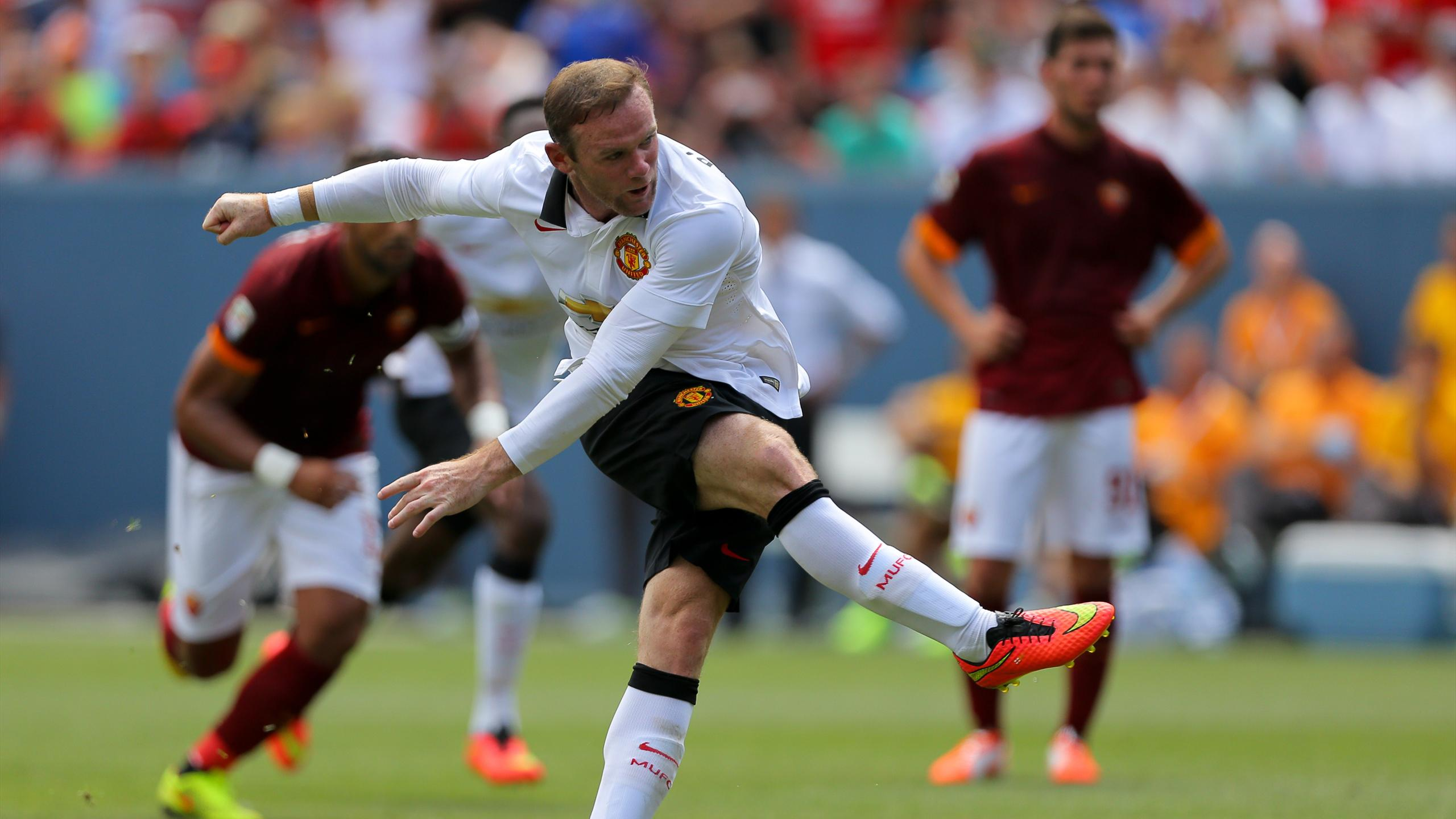 Friendly match - Rooney inspires Man Utd win over Roma