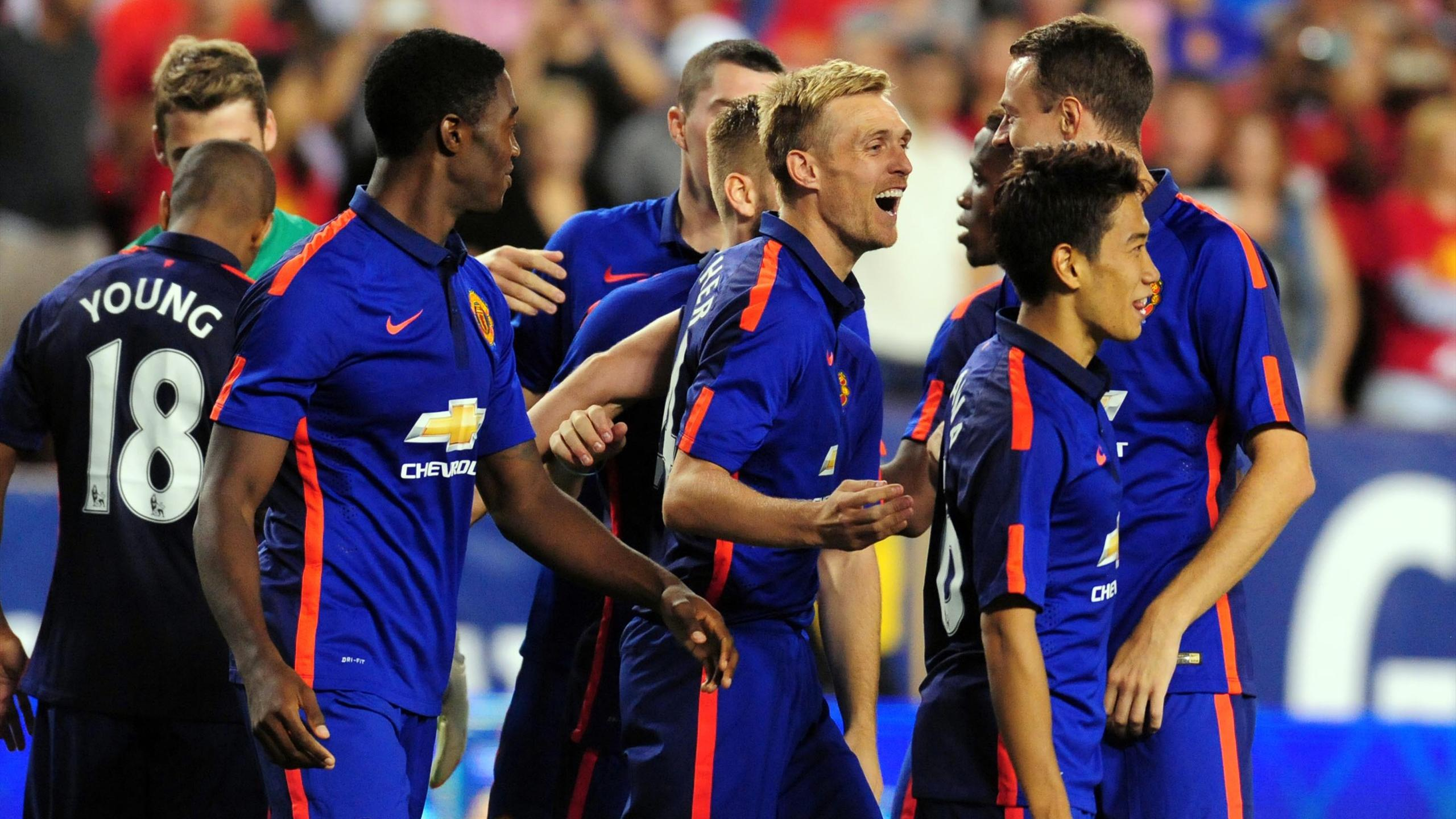 Premier League - Manchester United down Inter on penalties