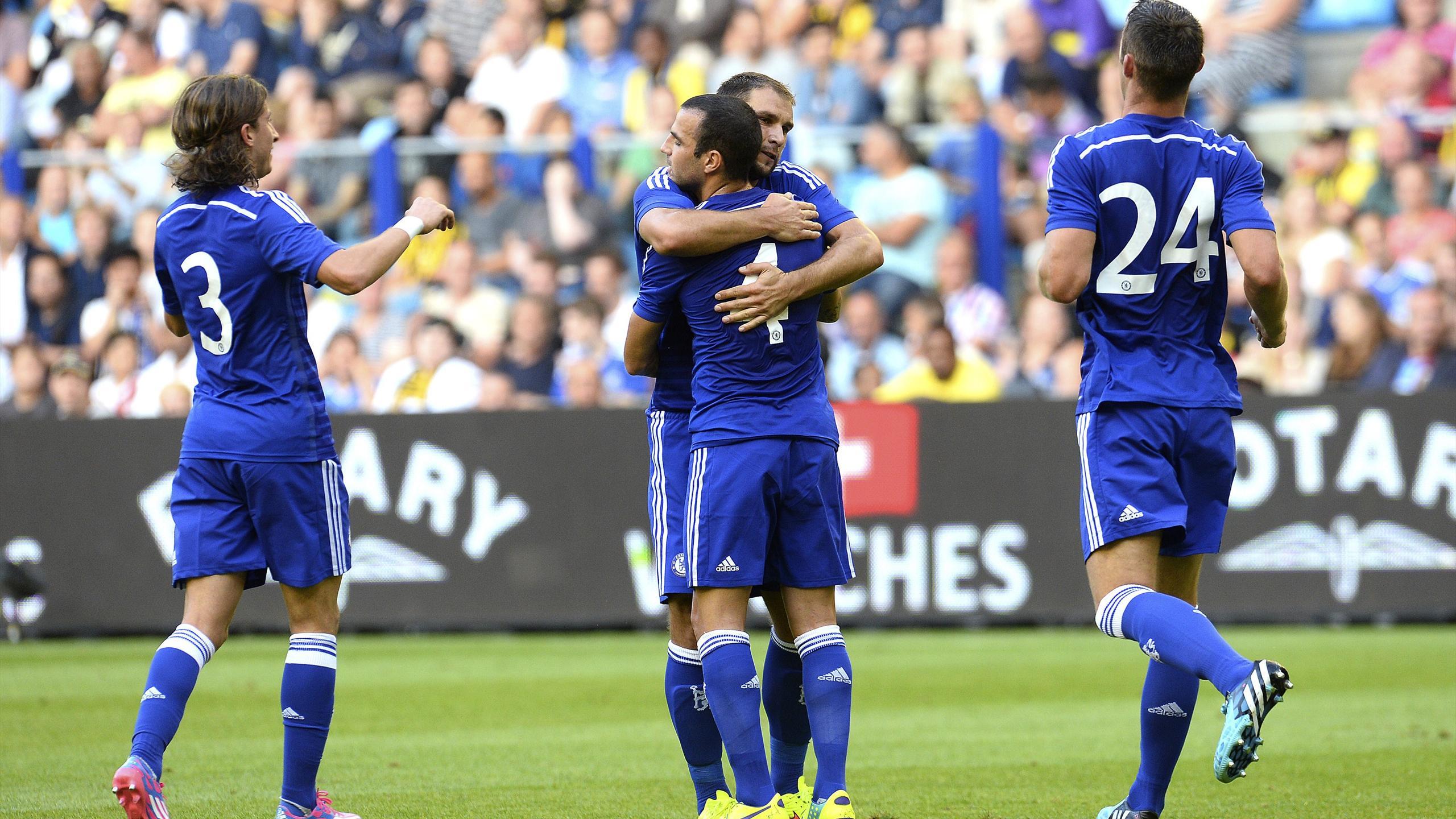 Friendly match - Fabregas impresses as Chelsea ease past Vitesse