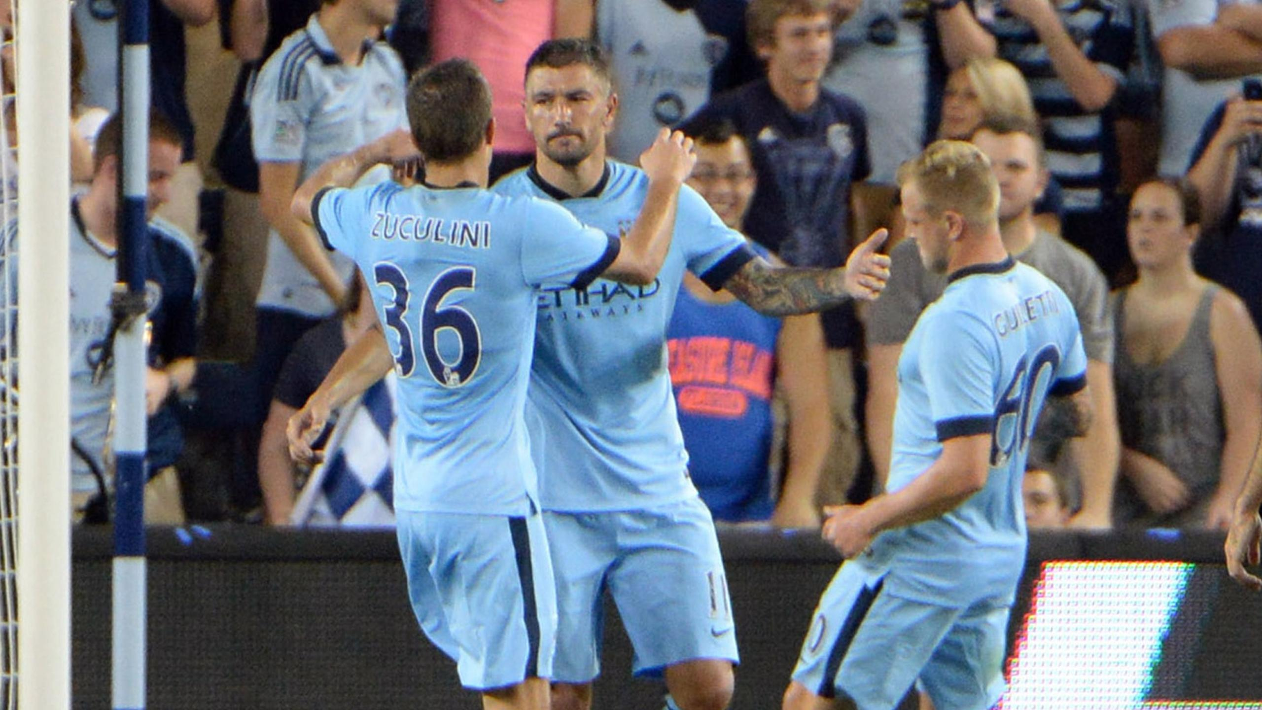 Friendly match - Manchester City go out of International Champions Cup