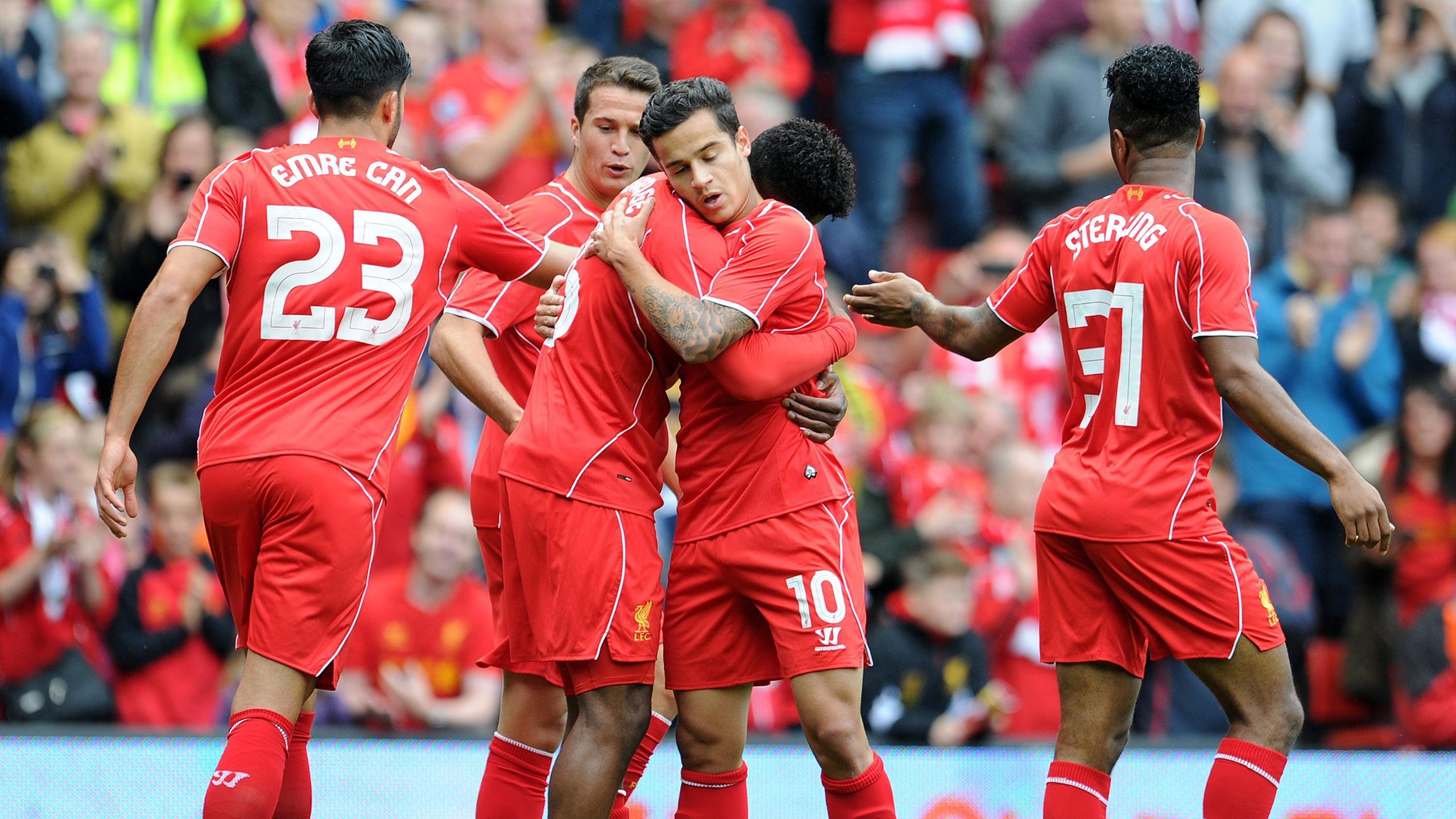 Premier League - Coutinho wonder show as Liverpool demolish Dortmund