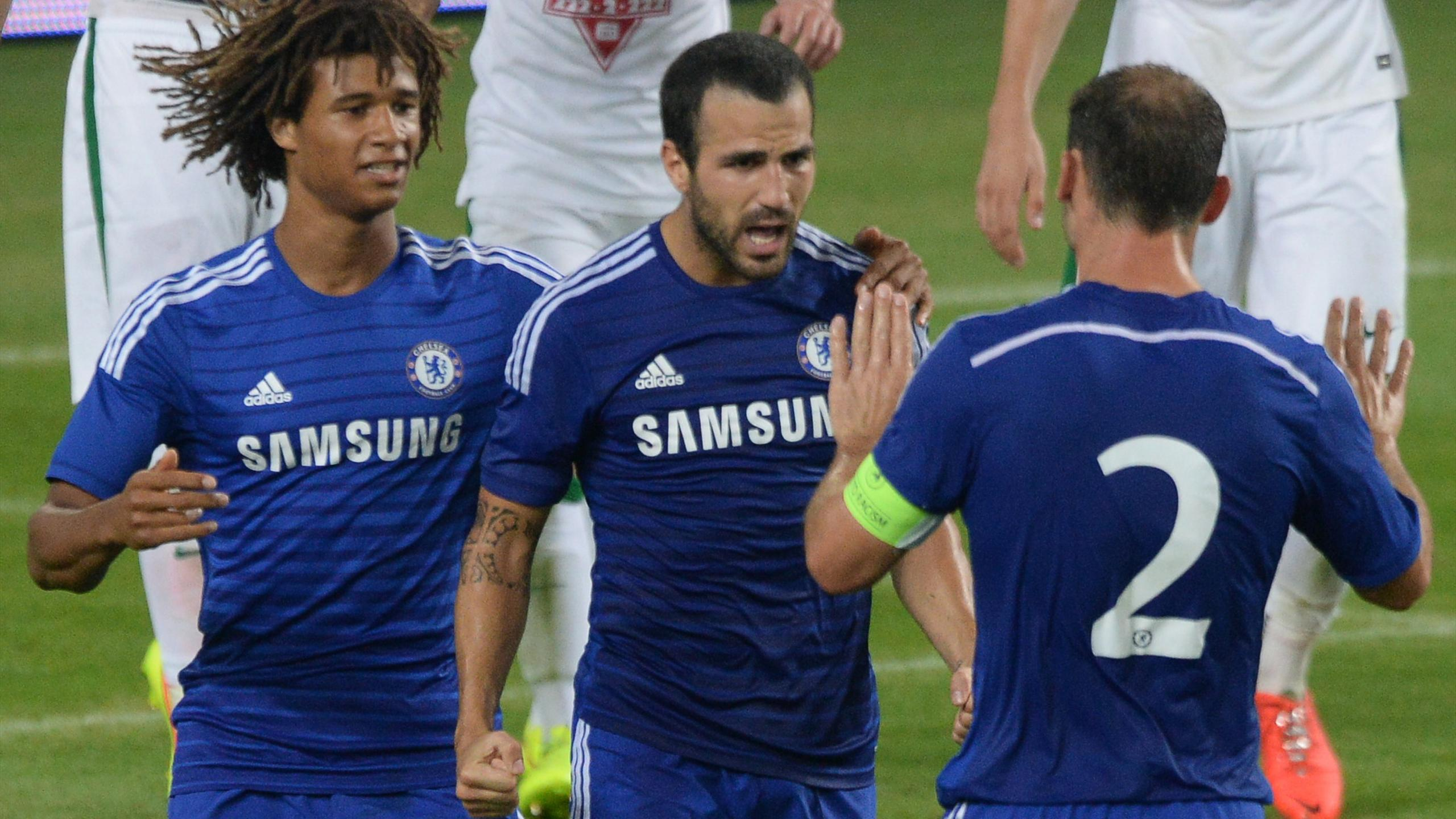 Friendly match - Ramires and Fabregas goals see Chelsea edge Ferencvaros