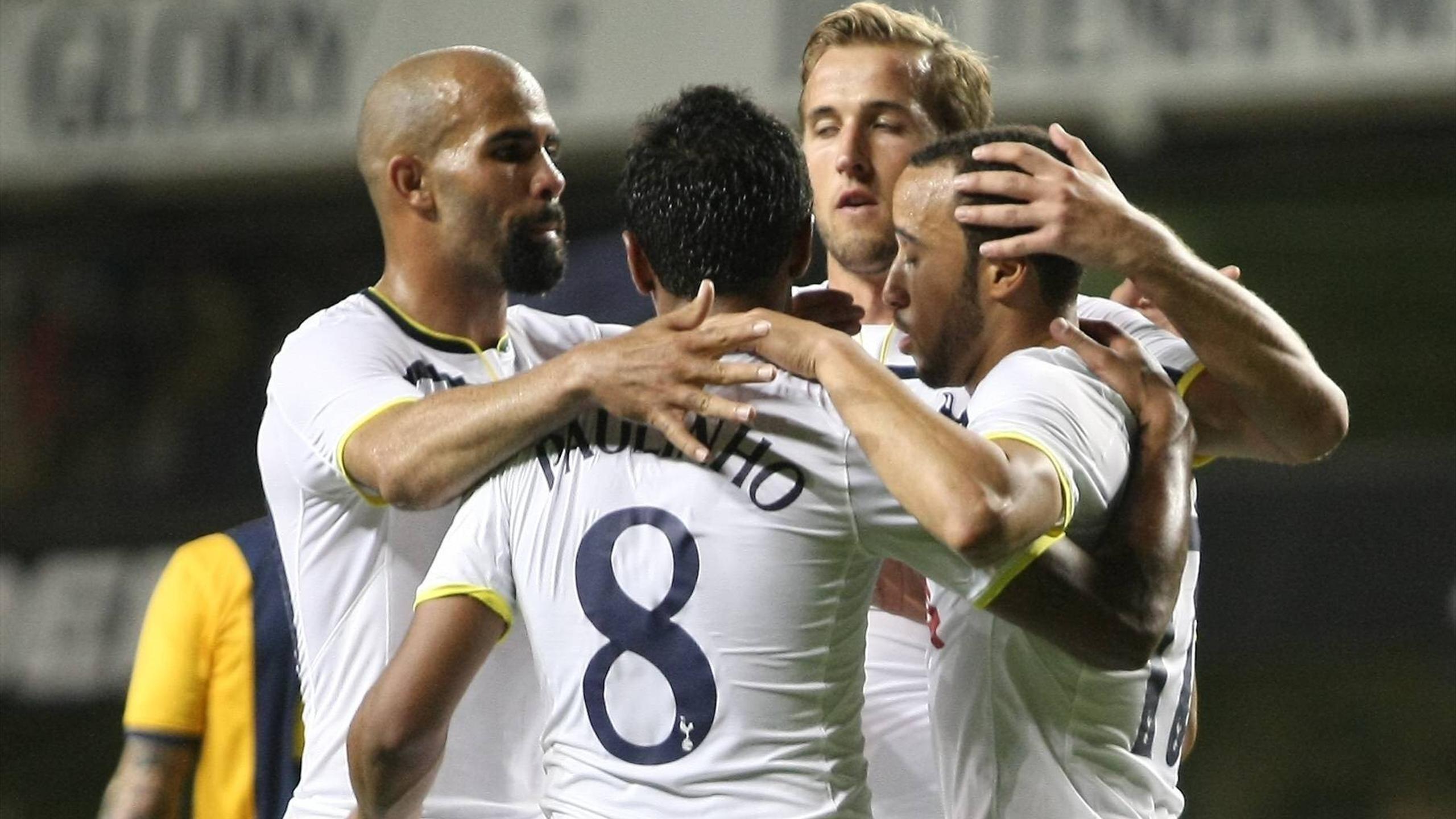 Europa League - Paulinho leads Spurs past AEL Limassol