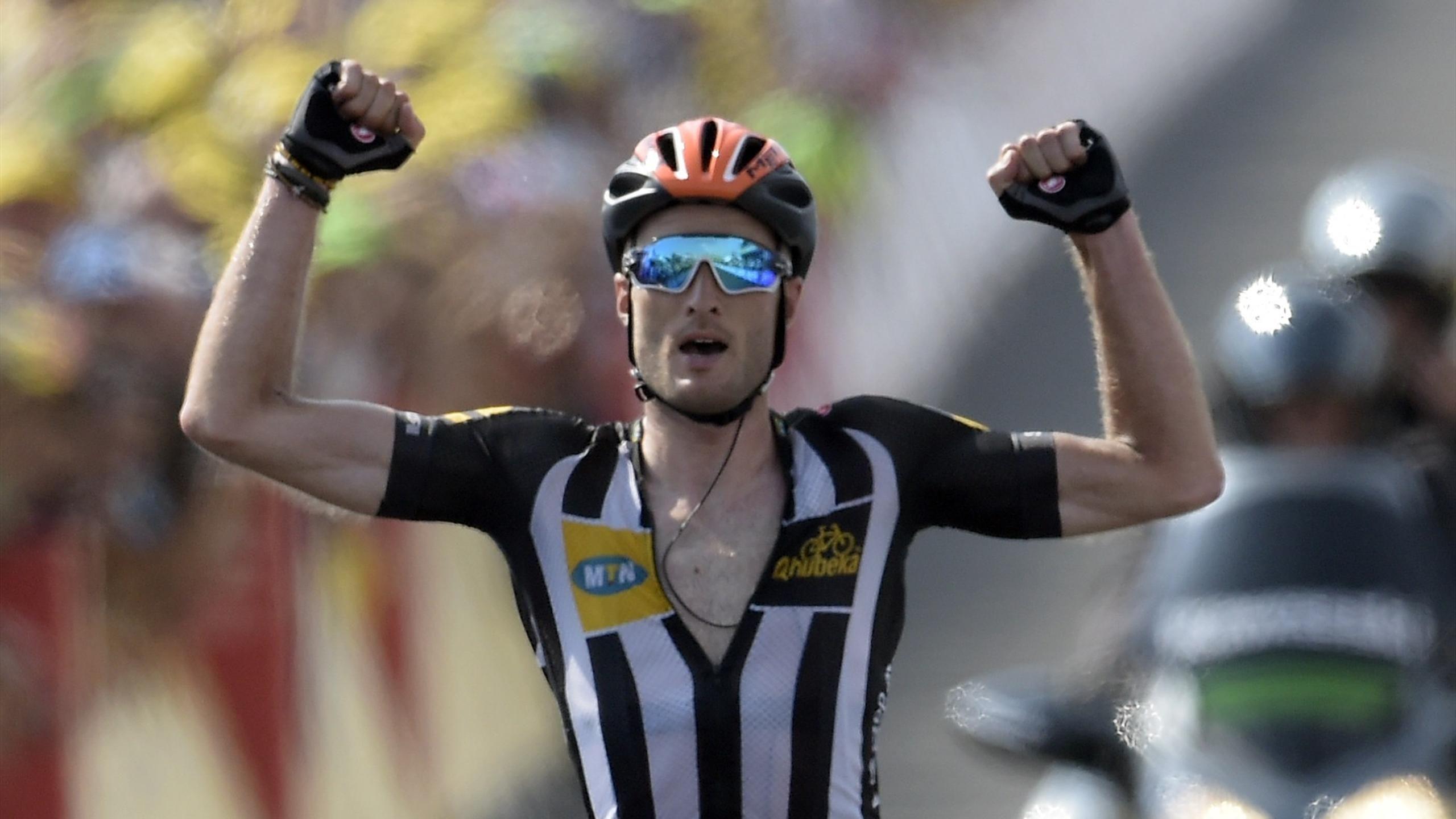 Tour de France - Cummings wins Tour de France 14th stage, Froome still leads