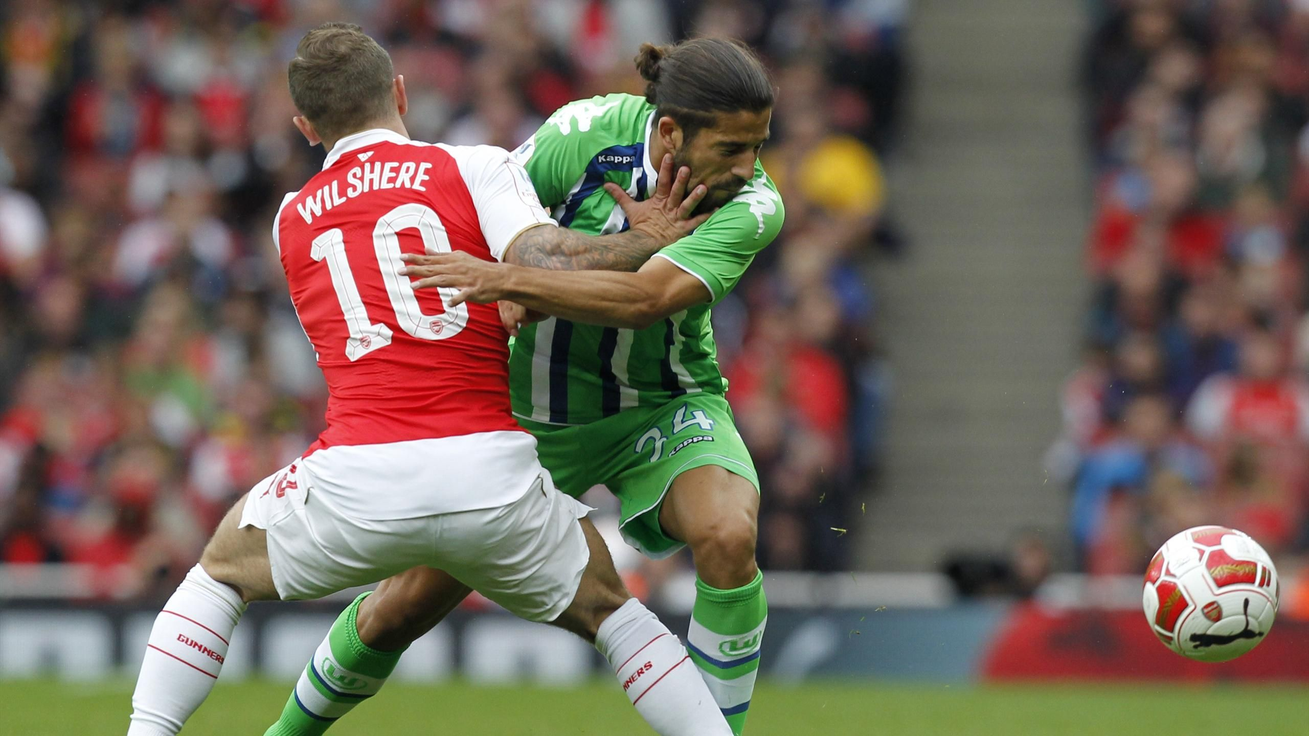 Video: Arsenal vs Wolfsburg