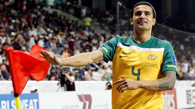 World Cup - Cahill and Neill score as Australia hammer Jordan