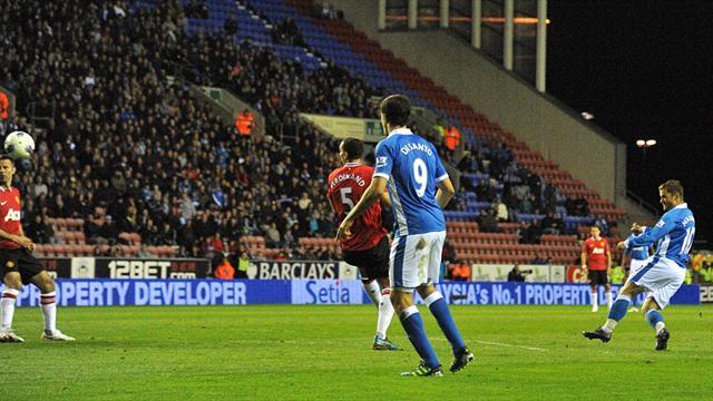 Premier League - Wigan score late equaliser to deny Saints
