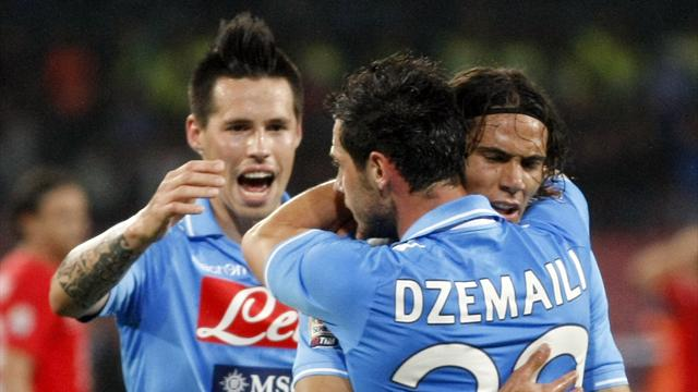 Napoli ease past Novara to go fifth