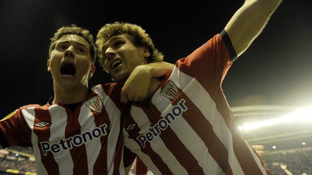 Llorente winner puts Athletic Bilbao in final