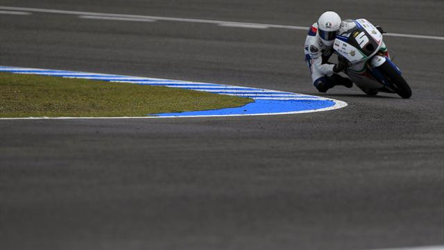Fenati takes stunning wet Moto3 win