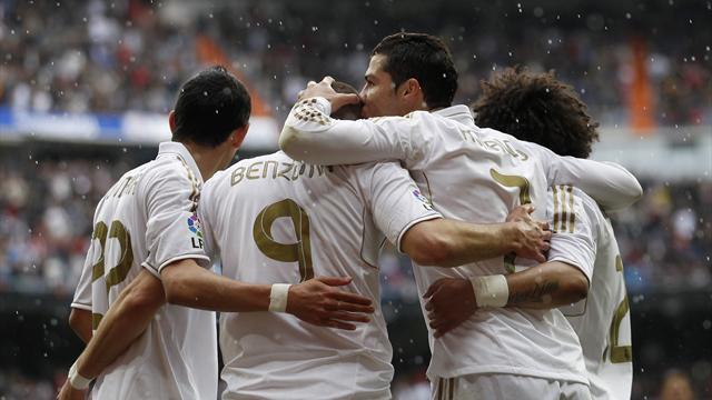 Real Madrid close in on La Liga title