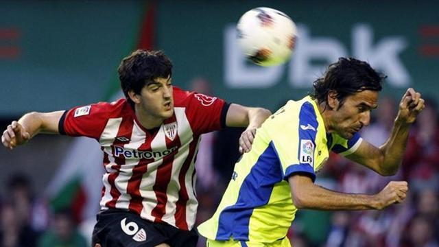 Liga - Rodr�guez helps Getafe shock Athletic