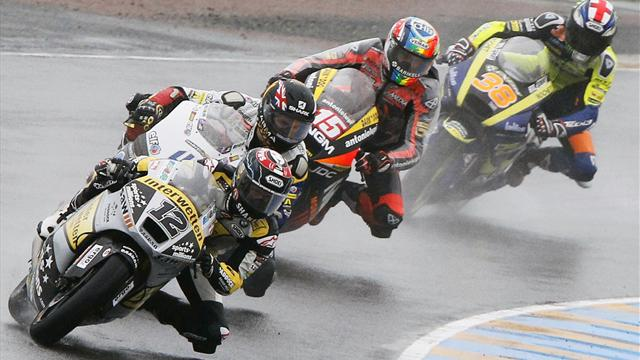 Luthi earns wet Moto2 win