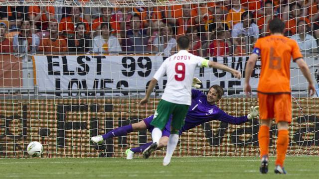 Last-gasp Bulgaria upset Netherlands