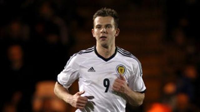 Scottish Football - Rhodes double helps Scotland scrape win