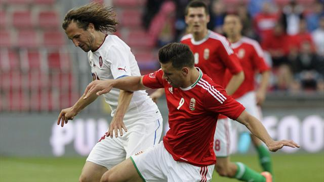 Czechs bounced out by Hungary
