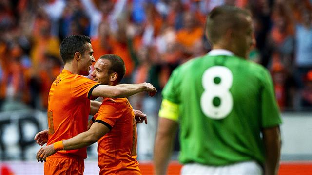 Dutch too good for Northern Ireland