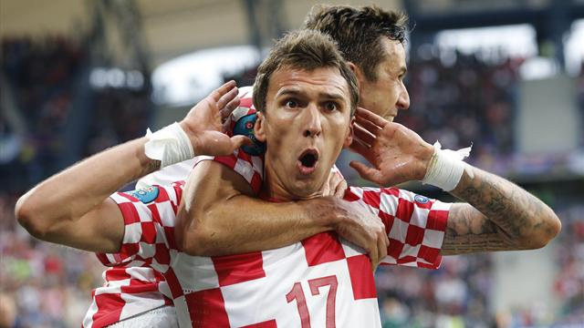 Croatia recover to earn draw