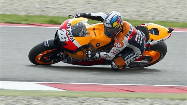 Pedrosa leads German MotoGP practice