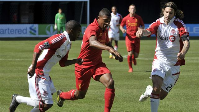 Toronto hold Liverpool to draw