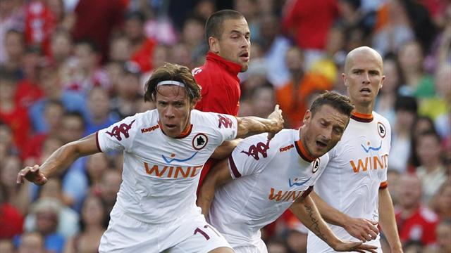 Liverpool fall to Roma in Boston