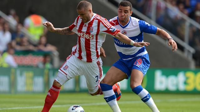 Reading peg back Stoke