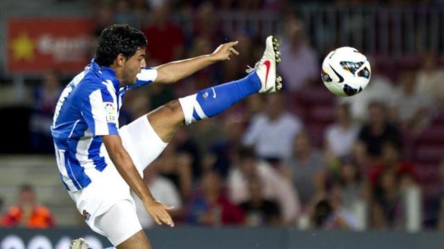 Spanish Liga - Vela inspires Sociedad to rout of Vallecano