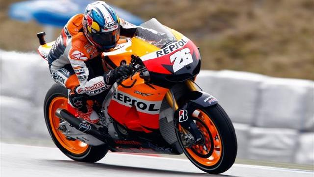 Pedrosa wins thriller on final corner