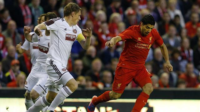 Liverpool knock Hearts out of Europa League