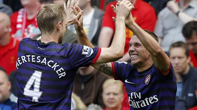 Impressive Arsenal too slick for Liverpool
