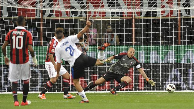 Atalanta shock Milan at the San Siro